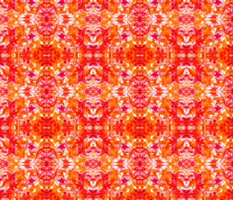 Orange Tile -http://www.spoonflower.com/fabric/5392027-orange-tile-by-lacartera