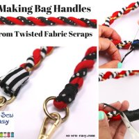 Sewing Tip - How to Make Handbag Handles Using Your Scrap Fabric