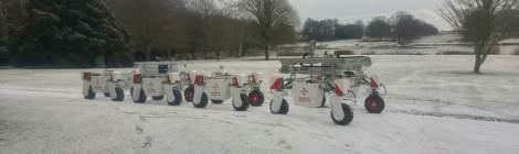 Fleet of Thorvald robots arrived