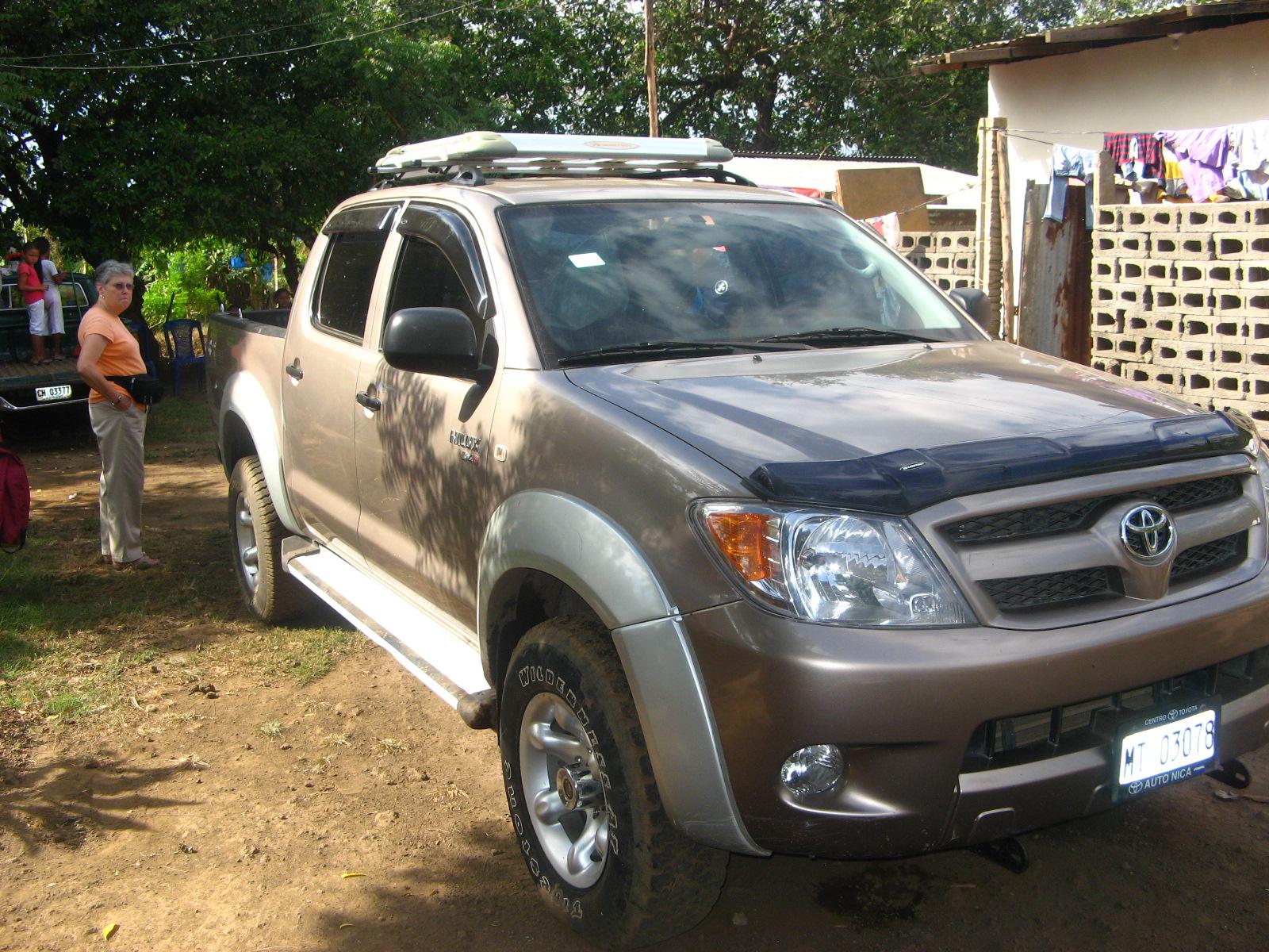 Nicaragua Mission Truck