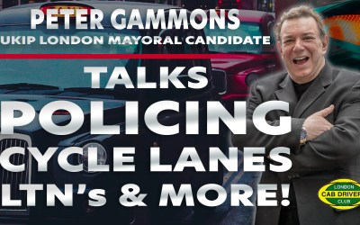 UKIP's Mayoral Candidate for London, Peter Gammons Interviewed