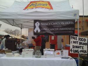 Fundraiser for lung cancer research