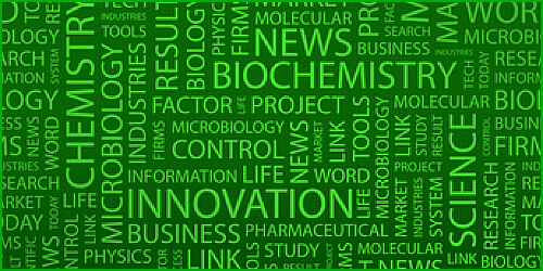 Research technology word cloud