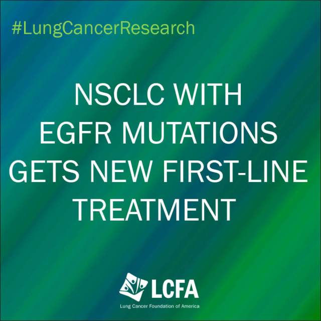 NSCLC with EGFR gets new first-line treatment