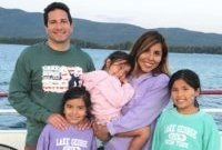 Lung Cancer Survivor Millie Torchia with her family