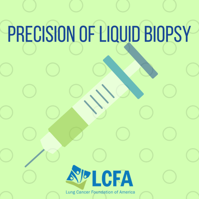 Precision of liquid biopsy
