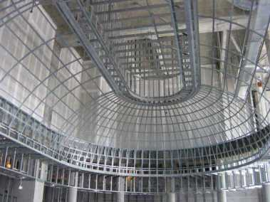 Nova Southeastern Business School Metal Dome Ceiling Framing