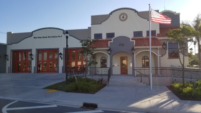 West Palm Fire Station exterior view