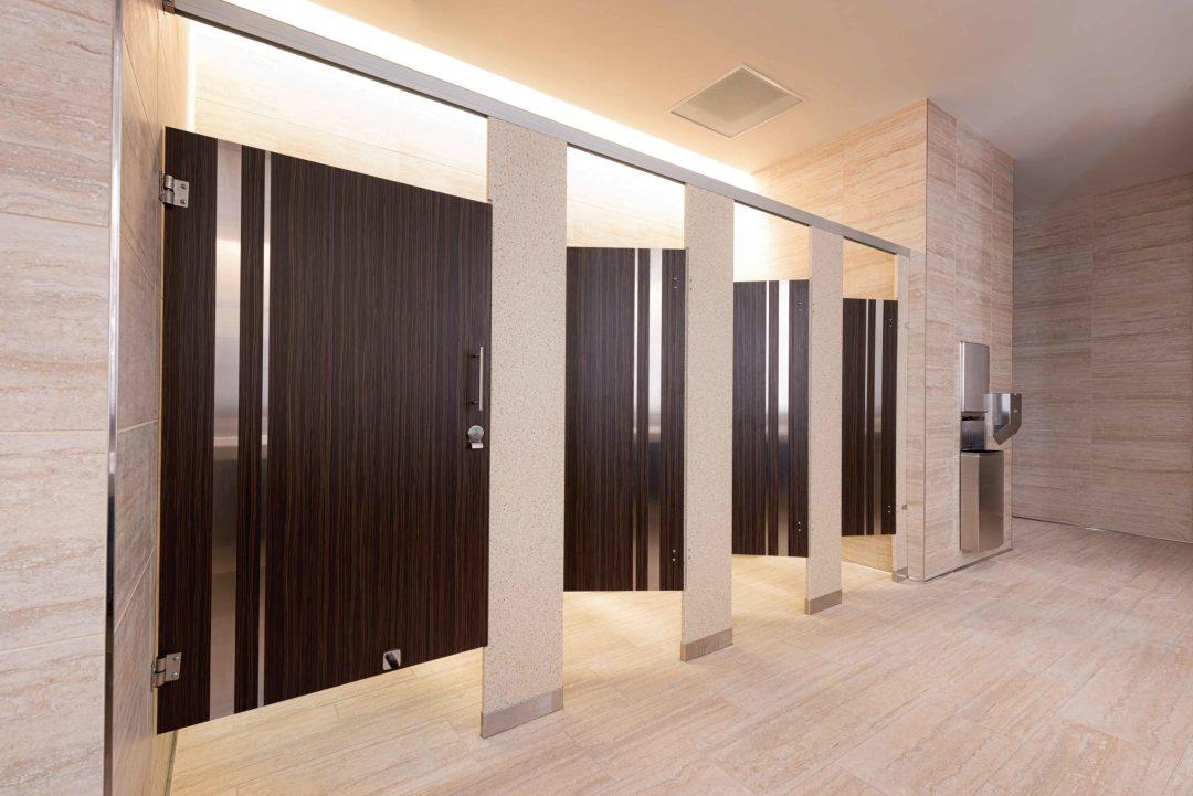 Seminole Hard Rock Casino bathroom stalls