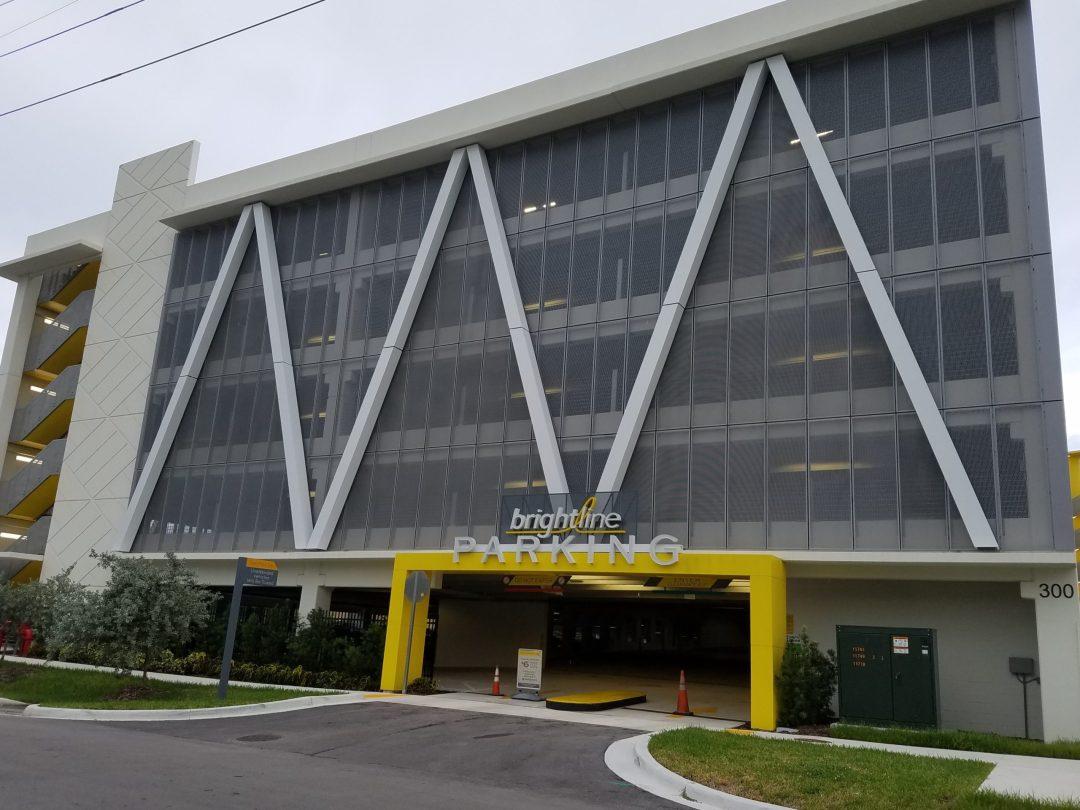 Brightline Parking Garage
