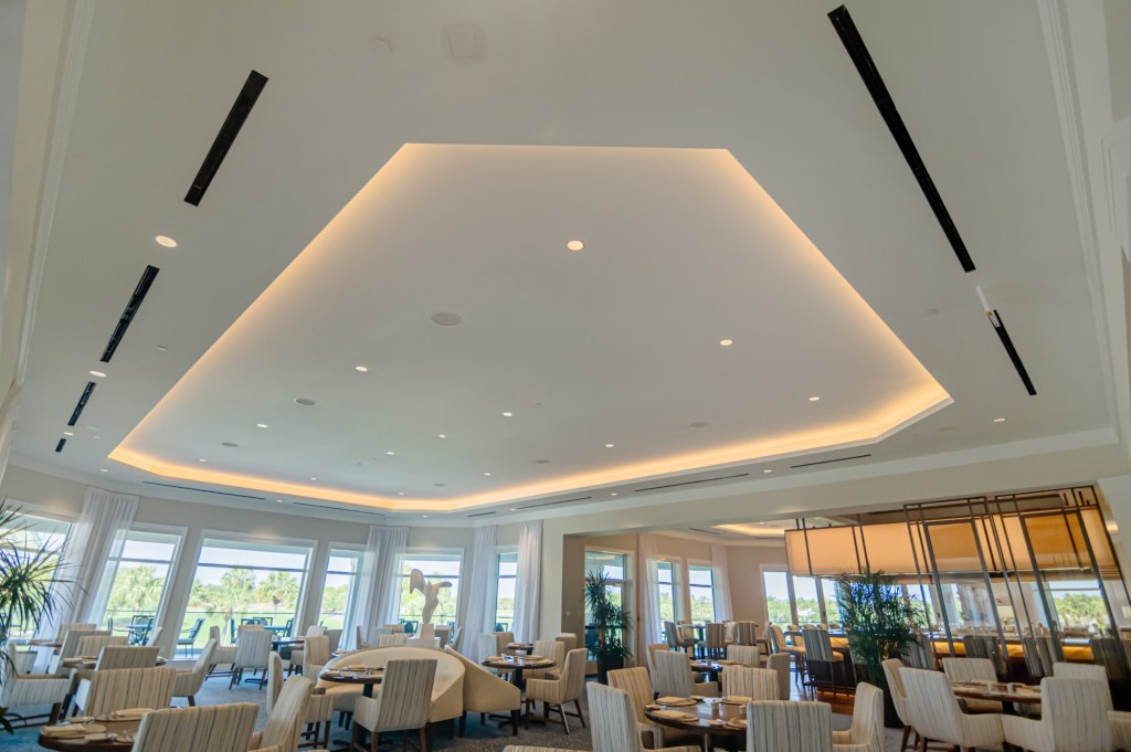 Loxahatchee Club- Acoustical Stretch Fabric Panels