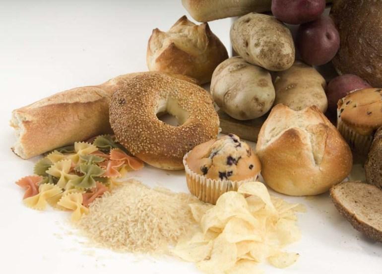 carbohidrati rapizi, amidon si zahar continuti in paste, cartofi, cereale, orez