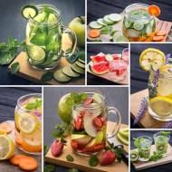 Apa infuzata cu aroma de fructe, legume sau ierburi condimentate