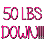 50 LBS Down!!! Go ME!! #LCHF