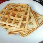 Low Carb French Vanilla Waffles! #LCHF