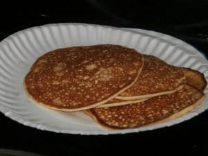 Almond Flour Pancakes!