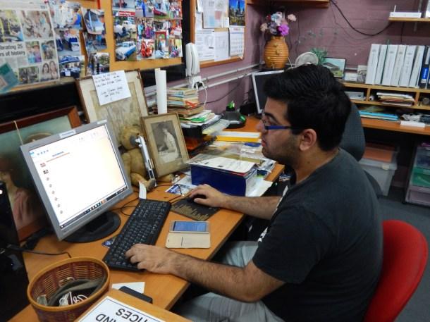 Ashneil - hard at work