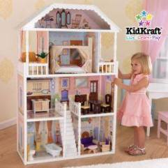 Kid craft doll house