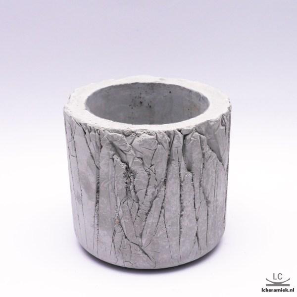 bloempot van beton