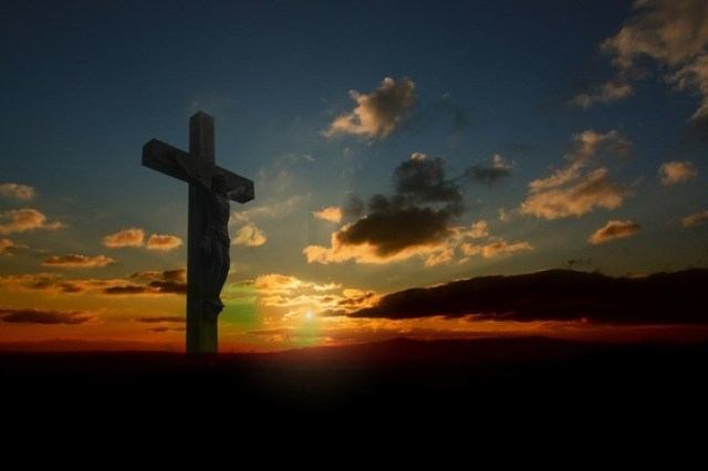 Cross At Sunset 1 (Small)