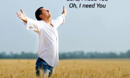 主我需要祢Lord I Need You