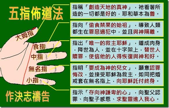 五指佈道法