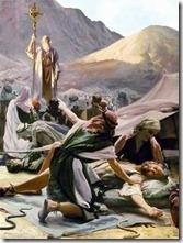 摩西舉銅蛇