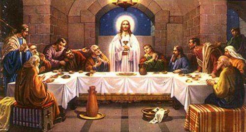 耶穌設立聖餐