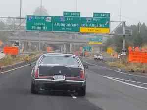 MK VII on the way to Albuquerque