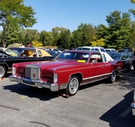 LCOC Show Cars Celebrate Continental Nameplate's 80th Anniversary at LCOC's Eastern National Meet (Part 2)