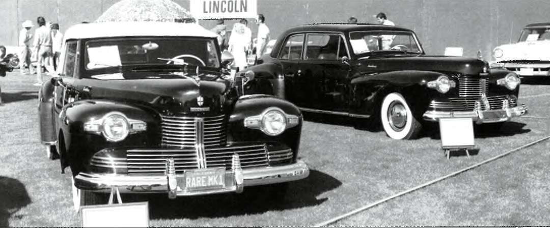 1942 Lincolns.  Cars So Rare from a Turbulent Year