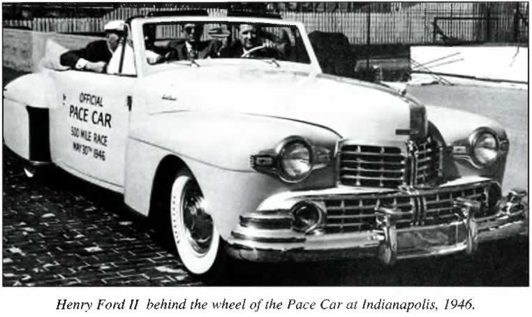 The 1946 Indianapolis 500 Pace Car