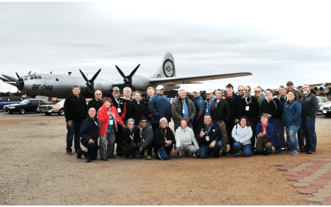 LCOC Members and Cars Visit Nuclear Science Museum in Albuquerque