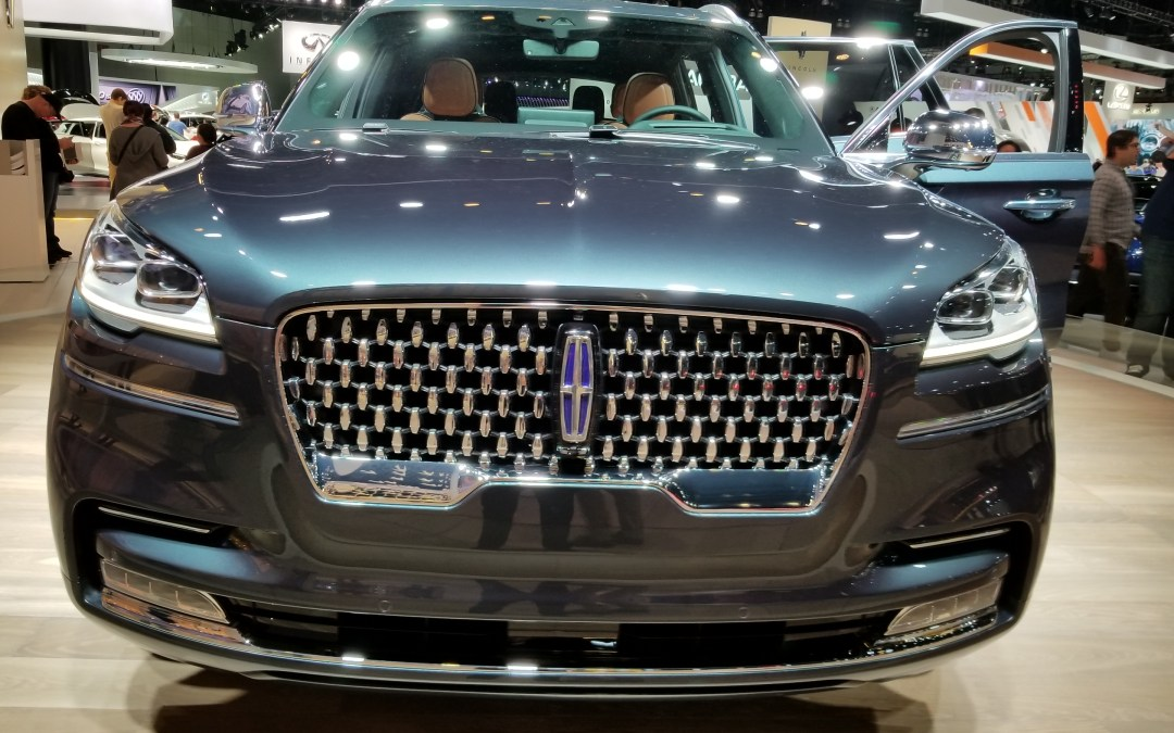 New 2020 Aviator Stars at Lincoln Brand Day at the L.A. Auto Show