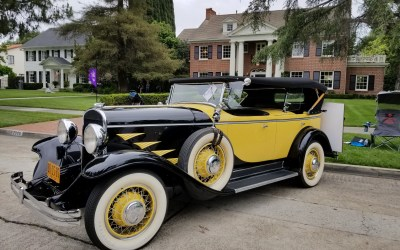 Vintage Car Display Added Spice to Floral Park Home and Garden Tour