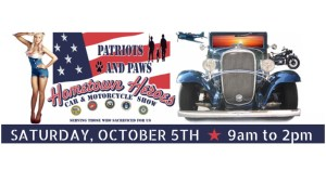 Patriots and Paws 'Hometown Heroes' Car and Motorcycle Show to Benefit Veterans is Set for Oct 5 @ Canyon R.V. Park | Anaheim | California | United States