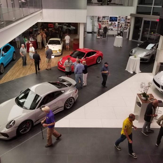 Glittering Porsche Palm Springs dealer hosted reception
