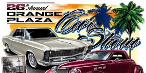 26th Annual Orange Plaza Car Show Postponed from April 19 - No New Date Yet @ Old Town Orange Traffic Circle