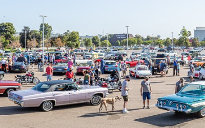 """Cars, Coffee and """"Tulip"""" Meet Up in Mission Valley San Diego"""