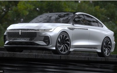 New Lincoln Zephyr Concept Car Introduced for China Market; Is a U.S. Version on the Horizon?