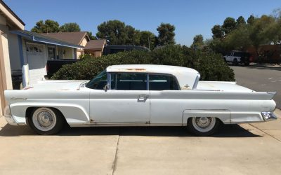 Rare 1958 Continental 2-Door Project Car Offered for Sale