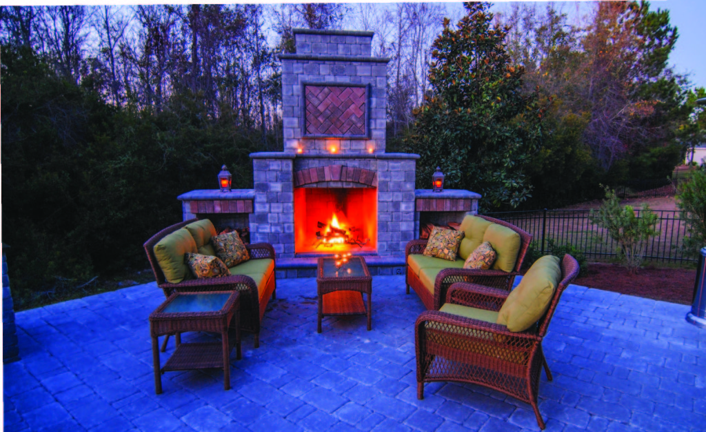 Do It Yourself Kits - Lowcountry Paver on Building Your Own Outdoor Fireplace id=16129