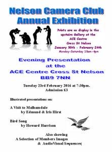 Nelson CC Exhibition