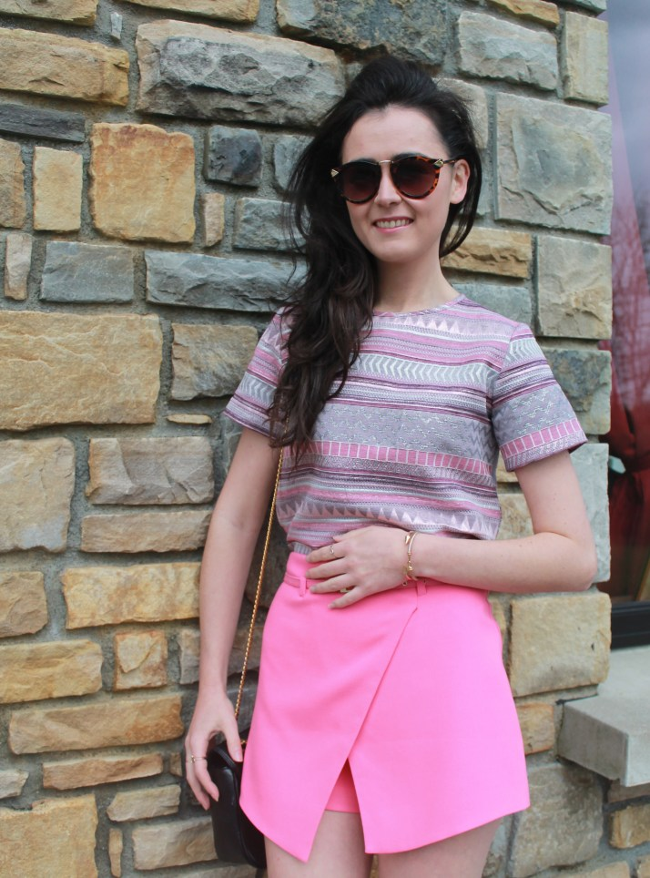 Irish Fashion Pink Prints 1