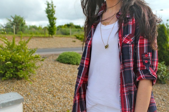 Irish Fashion Plaid Shirt 2