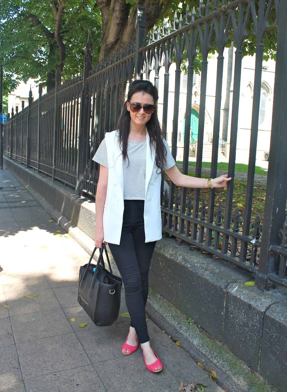 Irish Fashion Sleeveless Blazer10