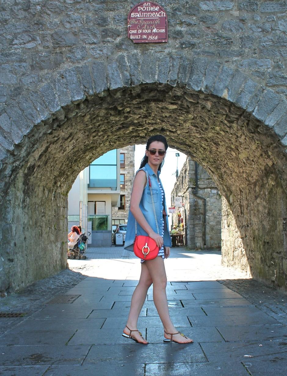 Irish Fashion Denim and Stripes 4