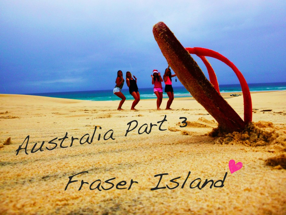 Irish Fashion Australia Travel Diary Fraser Island 1