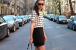 new york style: statement black skirt 1