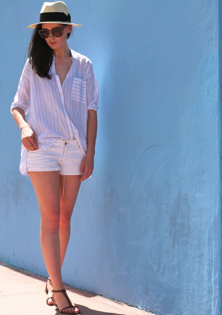 what to wear in miami - white outfit 12